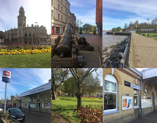 montage of medway towns