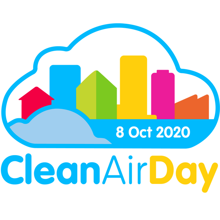 clean air day 2020 logo